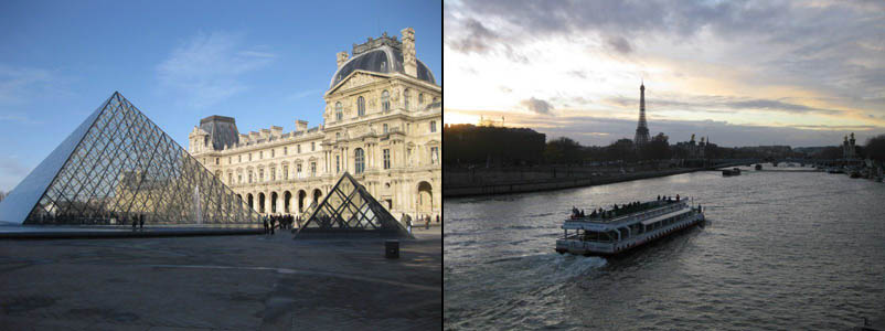 The Louvre and The Siene